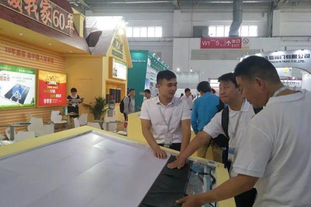 Grafénová vykurovacia fólia výstava Peking